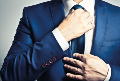 Richtig sitzender Anzug